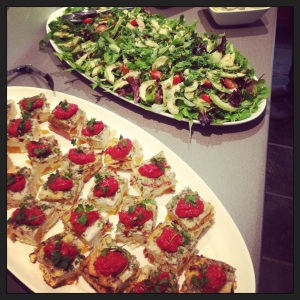 Angie Gluten free, yoga retreat catering