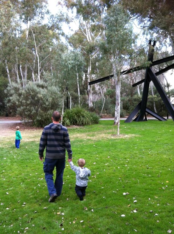 sculpture garden Canberra