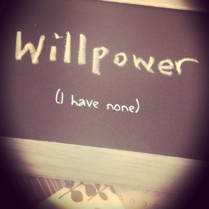 Willpower and weightloss